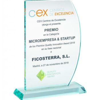 Ficosterra recoge el premio Quality Innovation Award en la categoría Microempresa & startup en China
