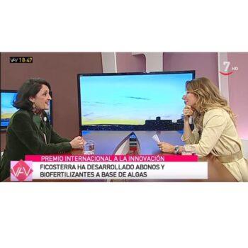 Entrevista en RTVCyL tras recibir el premio QIA